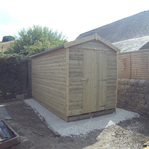"Apex 3""x2"" framed shed"