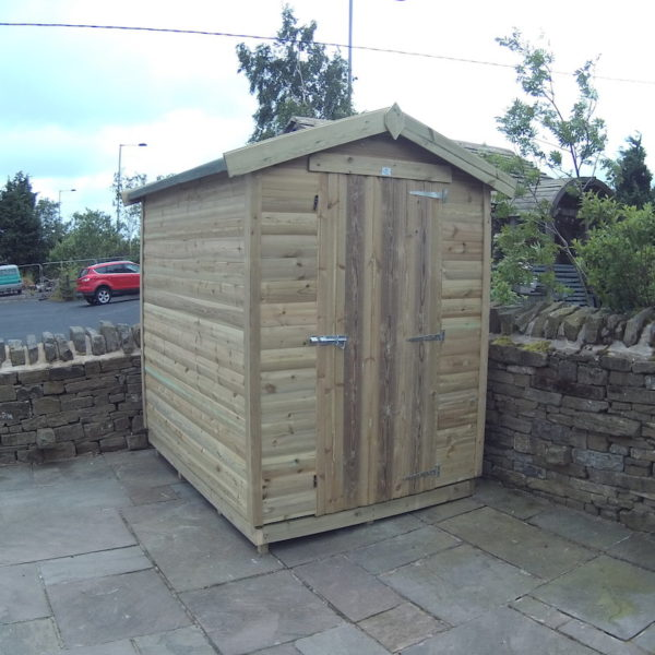 Tanalised Budget Shed - 16mm Loglap Cladding