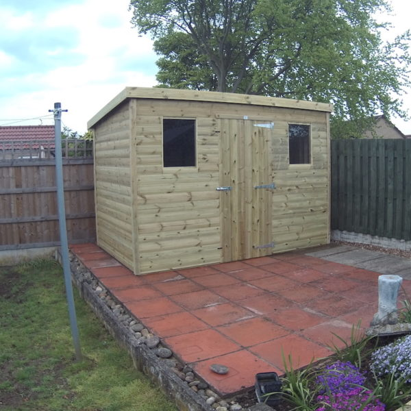 Tanalised Budget Shed - 12mm Shiplap Cladding