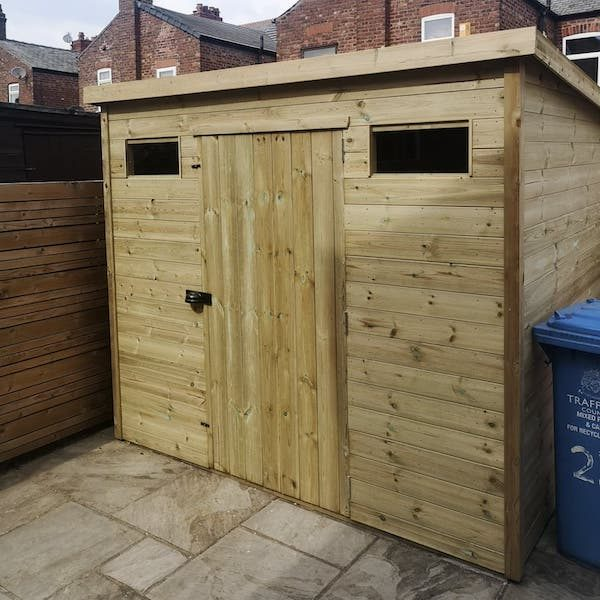 "Apex or Pent Security Shed 2""x2"" Frame"