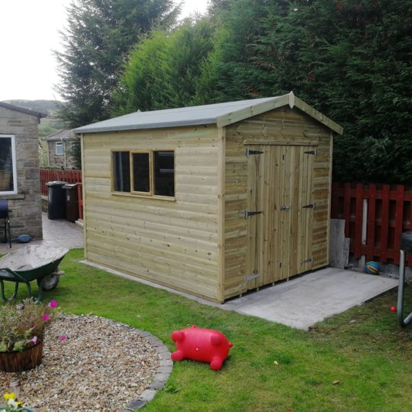 8ft gable workshop