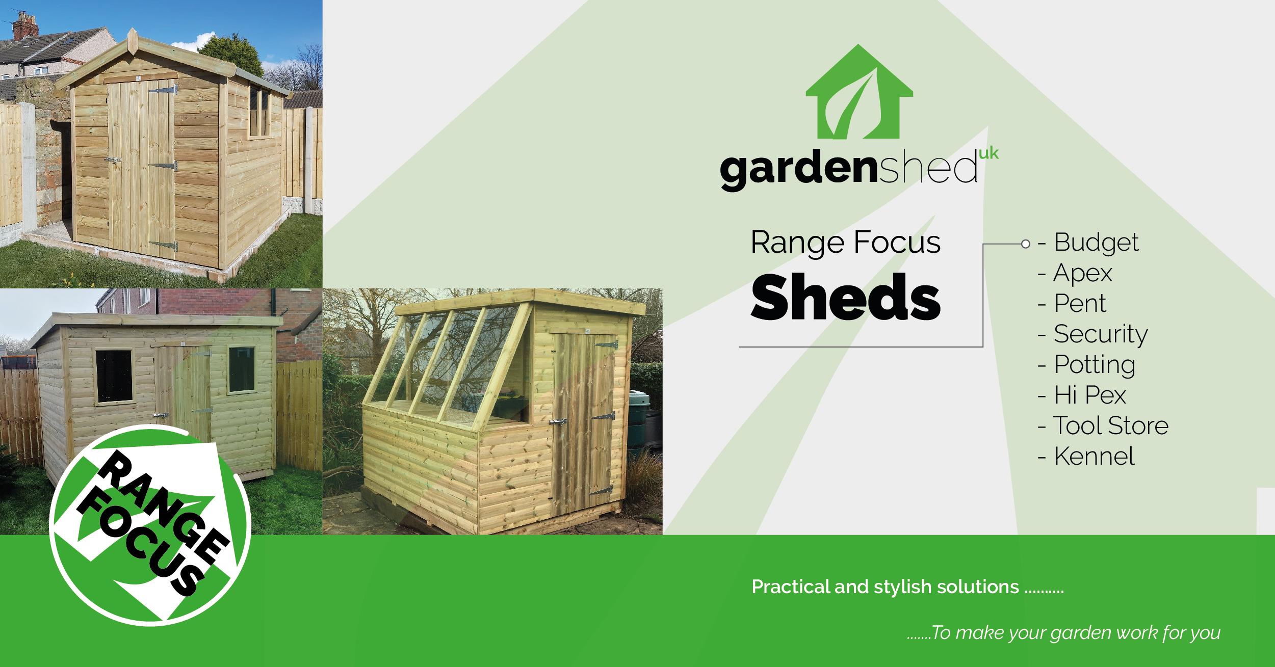 GardenShedUK Range Focus: Sheds